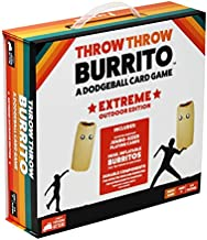 Throw Throw Burrito by Exploding Kittens: Extreme Outdoor Edition - A Dodgeball Card Game - Family-Friendly Party Games - Card Games for Adults, Teens & Kids