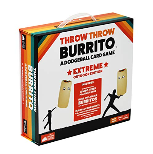 Product Image of the Throw Throw Burrito by Exploding Kittens: Extreme Outdoor Edition - A Dodgeball...