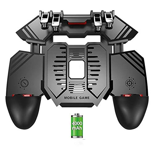 Tyueliang-Home Game-Controller Energien-Bank-Radiator Six Finger PUGB Griff Gamepad Spiel Entertainment Computerzubehör (Color : C, Size : One Size)