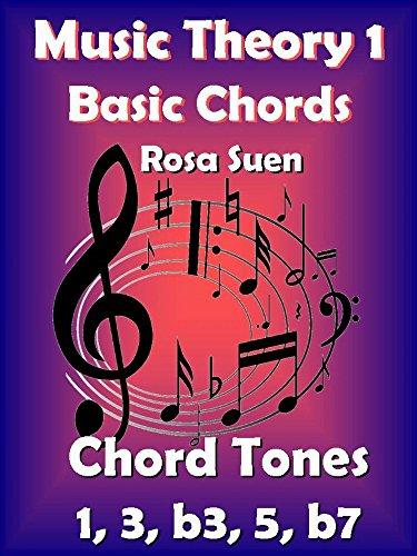 Music Theory 1 - Basic Chords - Chord Tones 1, 3, b3, 5, b7: Learn Piano Chords - Beginners (Learn Basic Music Theory) (English Edition)