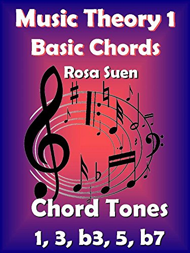 Music Theory 1 - Basic Chords - Chord Tones 1, 3, b3, 5, b7: Learn Piano Chords - Beginners (Learn Basic Music Theory) (English Edition)