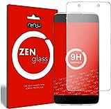 ZenGlass Flexible Glas-Folie kompatibel mit Alcatel Idol 4 Panzerfolie I Bildschirm-Schutzfolie 9H
