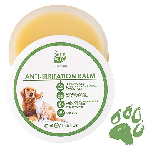 Bene Pura Trust Nature 100% Natural Anti-Irritation Pet Balm – For Paws, Nose, Skin –For Dogs, Cats & Other Pets 1.35 fl.oz