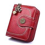 Petit Porte Monnaie Femmes Compact Mini Portefeuille en Cuir PU pour Femme Ado Fille...