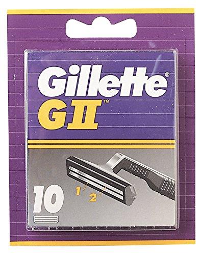 Auslaufmodell Gillette GII Klingen,  (1 x 10 Stück)