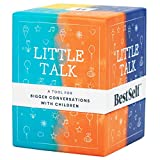 Kids Conversation Starter Little Talk Deck by BestSelf — Powerful Tool to Create and Strengthen Relationships with Children by Cultivating Open and Meaningful Interactions — 150 Engaging Prompts
