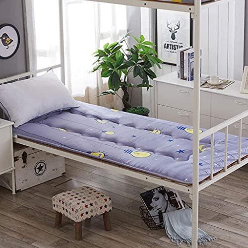 Futón Plegable Tatami para Dormir Colchón para el Piso Colchón Doble para el hogar Espesar Dormitorio para Estudiantes Individuales Almohadilla para la Cama Cojín para Ventana salediza Alfombrill