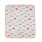 Baby Bucket Cotton Diaper Changing Mat (90x 64 cm), Entyle Washable Reusable Breathable