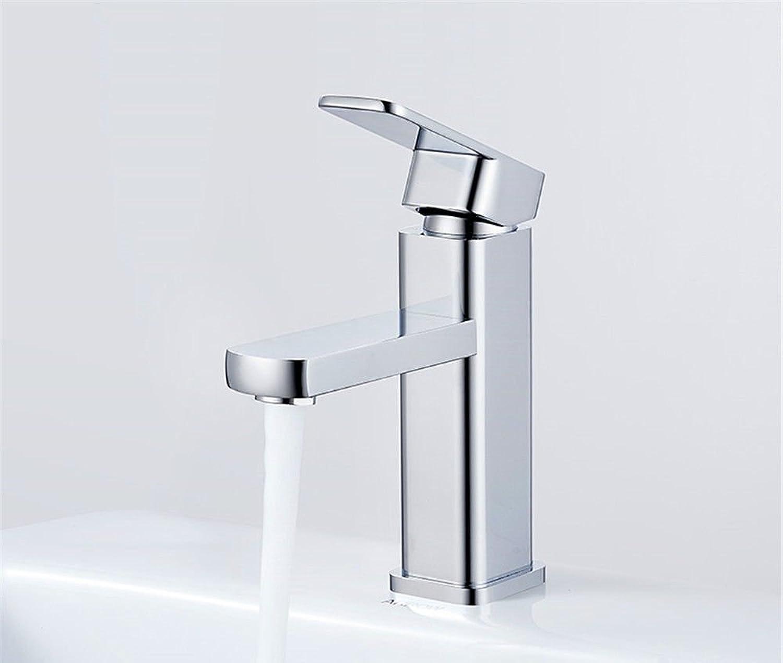 MNLMJ SpülbeckenhahnModerne einfacheKupfer hei und kalt Spülbecken Wasserhhne Küchenarmatur Becken Wasserhahn Bad Waschbecken heien und kalten Wasserhahn Geeignet für alle Badezimmer Spülbecken
