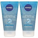 Nivea Visage Daily Essentials Refreshing Facial Wash Gel - Normal & Combination Skin 150ml/5.07 oz...