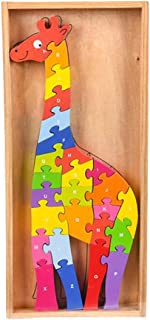 Fun Learning Activities for Young Learners 1 Pack of 48-pc Puzzle in a Wooden Board Homes Offices Perfect Item for Learning in Schools Unicorn Wooden Jigsaw Puzzle