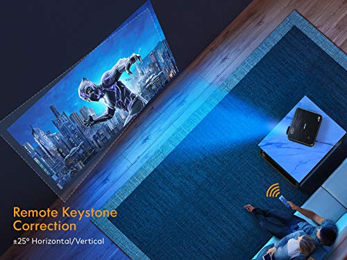 Projecteur, APEMAN 1080P Natif Full HD Vidéoprojecteur, 300