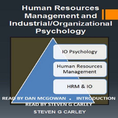 Human Resources Management and Industrial/Organizational Psychology cover art