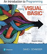 Introduction to Programming Using Visual Basic (11th Edition)