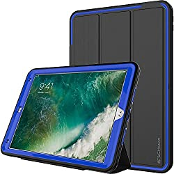 Slim fit, tough, shockproof, armour, protective case with screen protection and detachable front cover for the iPad Air 3rd Generation / 2019 (iPad Air 3) and iPad Pro with 10.5 Inch screens. Do NOT buy for any other tablet. Flaps for access to the p...