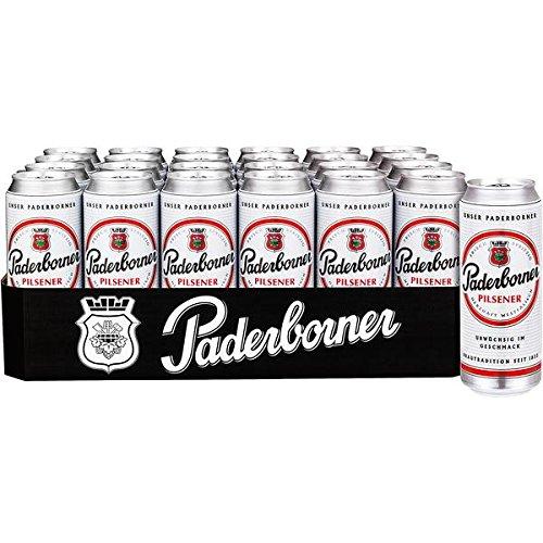 48 Dosen Paderborner Pils a 500ml 4,9% vol. a 0,5L Liter Bier inc. 12.00€ EINWEG Pfand