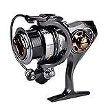 Carretes de Alta Velocidad 7.1: 1 Match Spinning Reels Agua Salada Smooth Fishing Baitcasting Reel(HS2000)