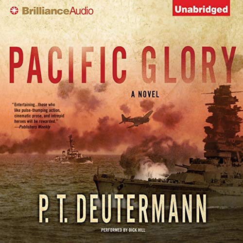 Pacific Glory audiobook cover art
