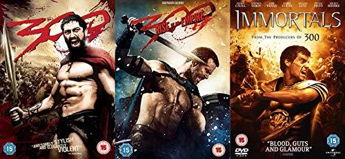 300/300 Rise of Empire/Immortals 3 Movies