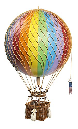 Authentic Models AP163E - Dekoballon - Ballon Regenbogen Ø 32 cm Höhe 56 cm