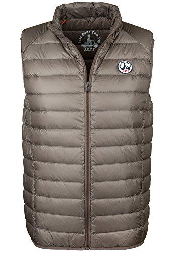 JOTT TOM Down jacket vest, Marrón, L para Hombre