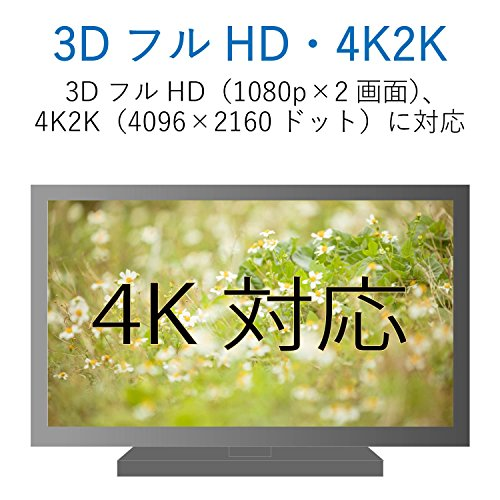 エレコムハイスピードHDMIケーブル4K3DフルHDイーサネット対応3.0mブラックDH-HD14ER30BK&エレコムハイスピードHDMIケーブル【NintendoSwitch対応】4K3DフルHDイーサネット対応スーパースリム1.0mブラックDH-HD14SS10BK