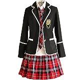 URSFUR Mädchen Japan Kostüm Langärmelige Anzug Cosplay Uniform Anime Uniform - Style 10 - M (Herstellergröße: L)