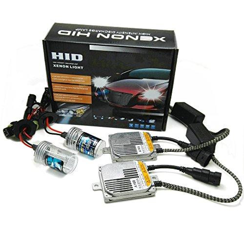 Heinmo - Kit d'ampoules ballast pour phare de voiture 55 W AC HID xénon, 12 V, 4300 K, 6000 K, 8000 K, H1, H3, H7, H8, H9, H11, 9005, 9006, HB4