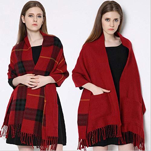 Aimljr_scarf Fulares Mujer Chales Mujer Bufanda otoño