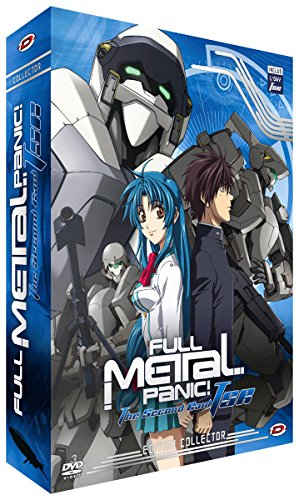 Full Metal Panic The Second Raid-Intégrale + OAV (3 DVD + Livret) [Édition Collector]