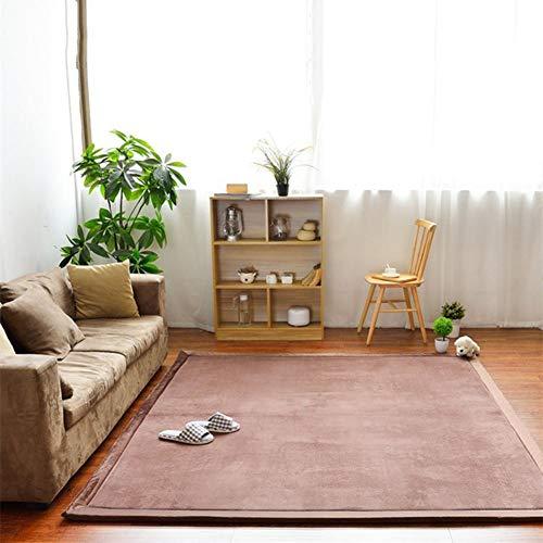 ZXMDP voetmatten, schapenvacht, zacht, antislip, yogamat, voor woonkamer