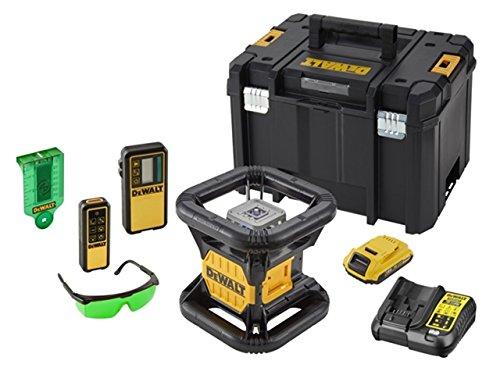 Dewalt DCE079D1G-QW Rotationslaser,Vertikal-Lot dopp,gruen, 18 V, Gelb/Schwarz, einheitsgröße