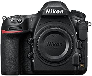 Nikon D850 Digital Camera - 45.7 MP, Body Only, Black