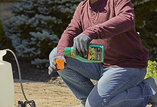 diluting weed killer