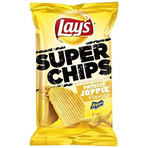 Pommes Frites Joppie Chips | Lay's | Superchips Patatje Joppie | Gesamtgewicht 215 Gramm