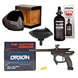Oriion Paintball Marker Professional Kit | Paintball Gun + High End Anti Fog Paintball Mask + 48CI 3000PSI Paintball Tank + Hopper | Perfect Professional Paintball Gun Kit with High End Accessories