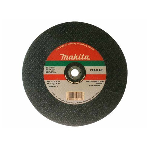 Makita P-24474 Cutting DISC-Electric and Petrol Cutter 12', Black