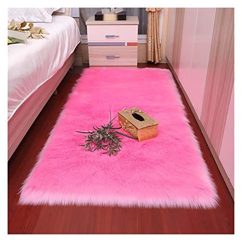 SCAYK Weiche europäische Schlafzimmer Teppich pad Long haarbett bucht Fenster Kissen Sofa Kissen weiß rot Fenster Teppich große teppiche Teppich für Wohnzimmer Schlafzimmer