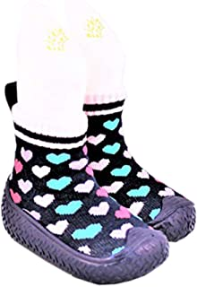 Tickle Toes Pink Owl Non Skids Proof Shoes 6856