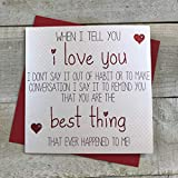 """Best Valentine's Day Cards - Handmade Valentine's Day Card """"I Love You…You Are Review"""