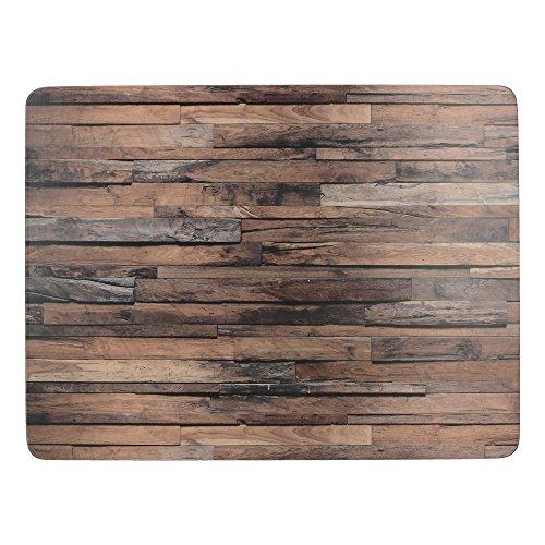 Creative Tops \'Wood Cabin\' Premium-Tischsets mit Korkboden, 30 x 23 cm - Braun (6er Set)