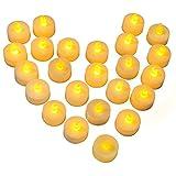 24 LED Kerzen, Diyife LED Flammenlose Tealights,...