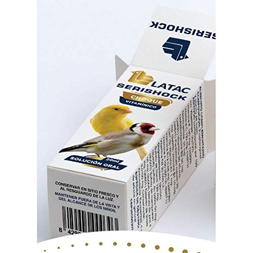 LATAC - Choque vitamínico SERISHOCK 150 ml.