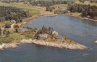 Rock Gardens Inn & Cottages at Sebasco Sebasco Estates Maine Postcard
