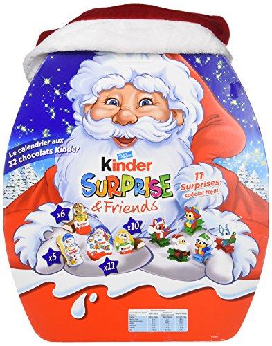 Kinder Calendrier de l'Avent Friends Chocolat Noël - 431g