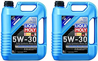 Liqui Moly Longtime High Tech 5W-30 Motor Oil (5 Liter) - 2 Pack