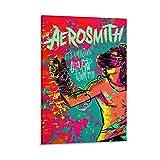 diannao Aerosmith Poster, dekoratives Gemälde, Leinwand,