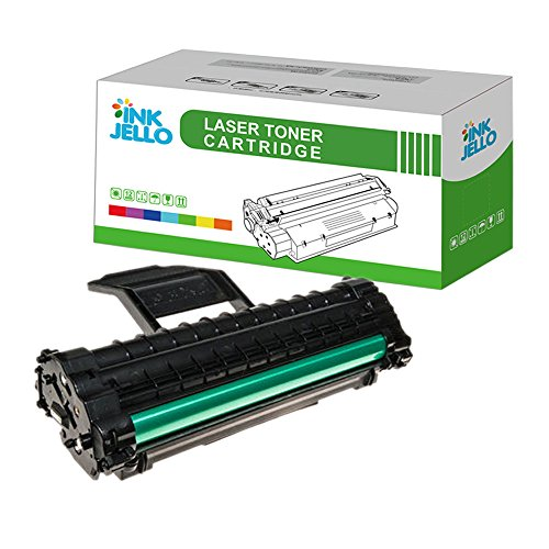 InkJello Compatible Toner Cartucho Reemplazo por Samsung ML-1610 ML-1615 ML-1620 ML-1625 ML-2010 ML-2015 ML-2020 ML-2510 ML-2570 ML-2571N SCX-4321 SCX-4521F ML1610D3 (Negro, Soltero-Pack)