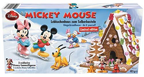 Mickey Mouse Lebkuchenhaus Lebkuchen Disney Knusperhaus