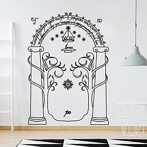 Puerta Decoración de la habitación de los niños Vinilo Interior de la habitación de los niños Pegatinas de pared Dormitorio de los niños Decoración del hogar Pegatinas de pared Otro color 58x42cm